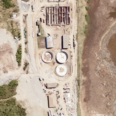 Waste water treatment plant, Saint John NB (2009)