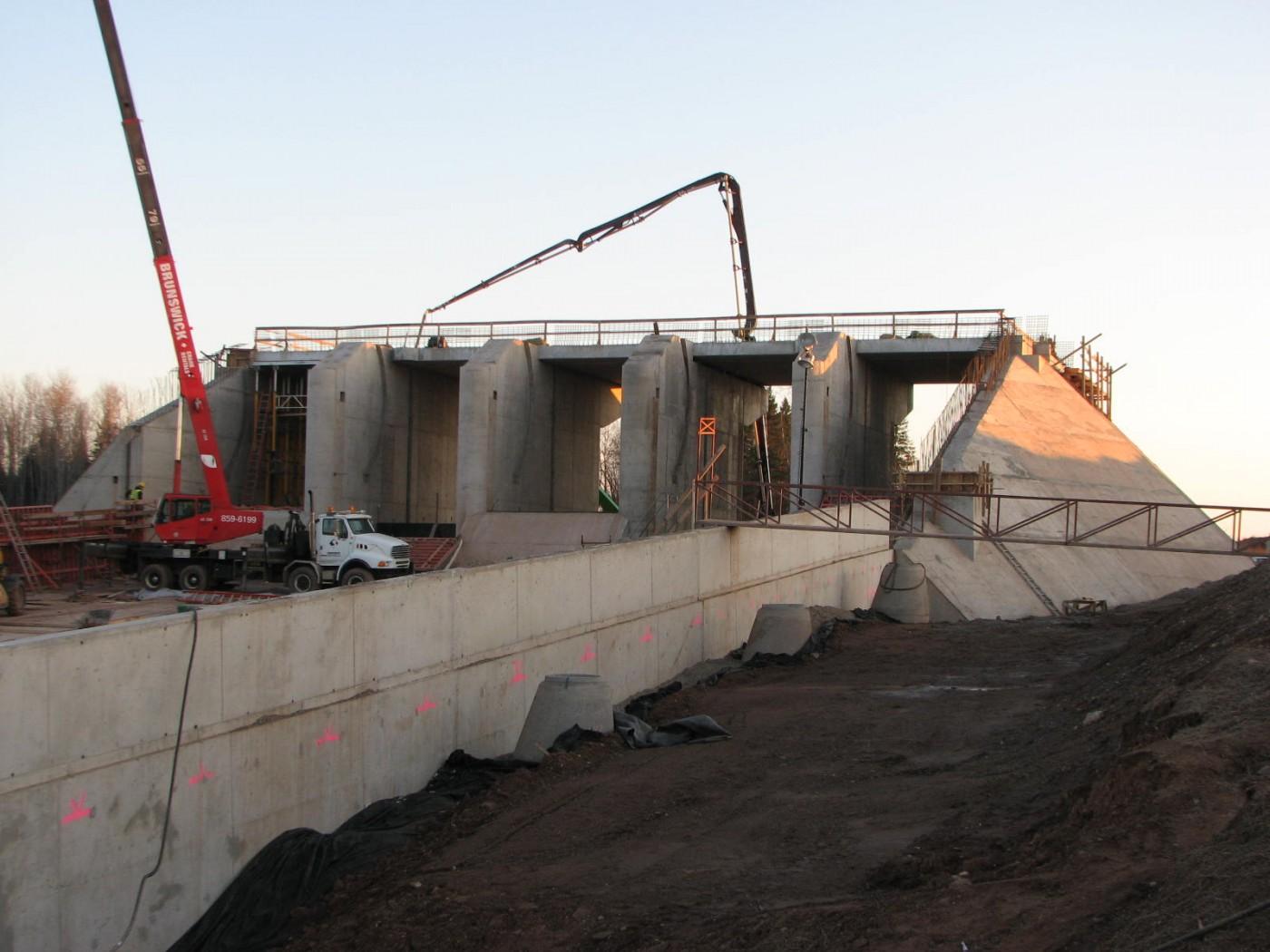 Tower Road Dam, Turtle Creek NB (2012)