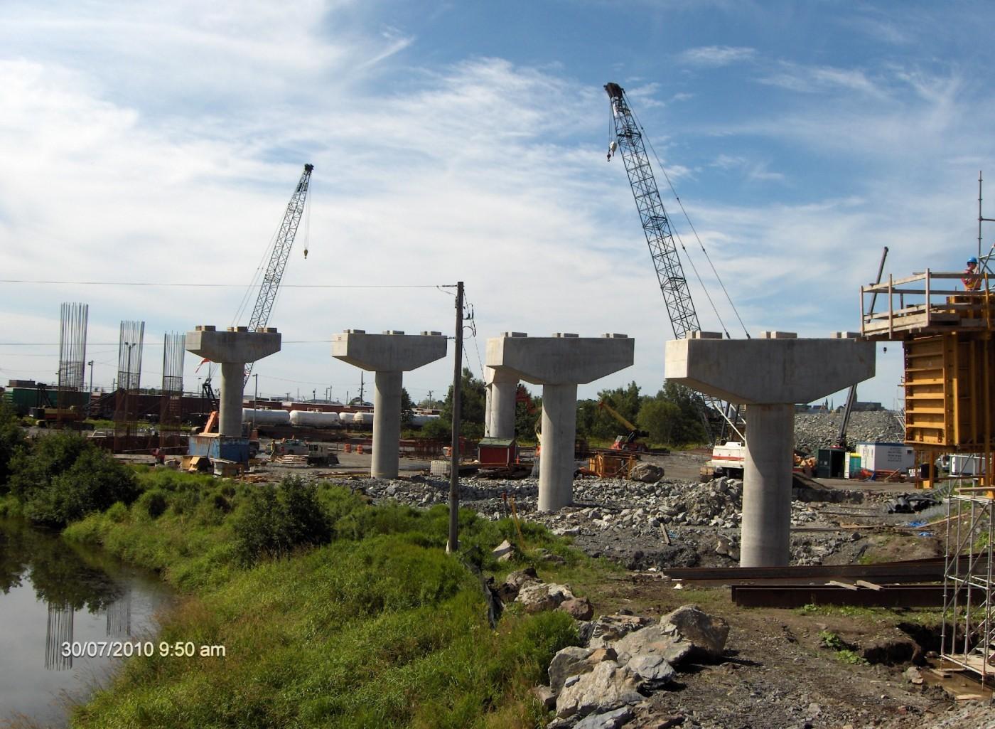 One mile Viaduct, Saint-John (2009)